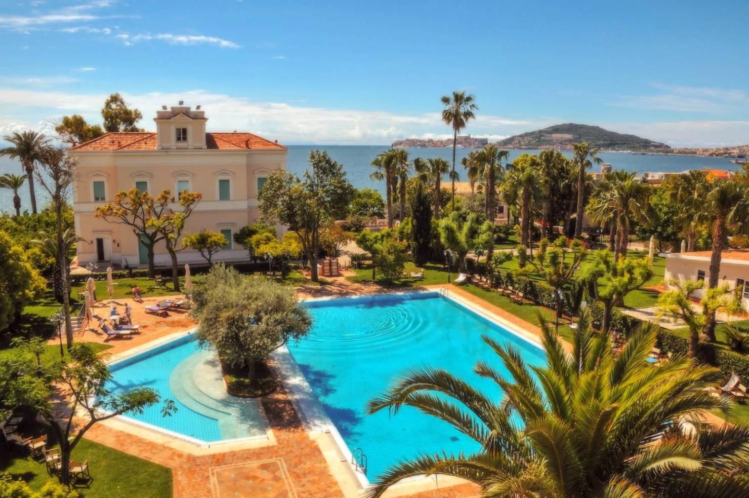 Villa Irlanda Grand Hotel Gaeta Italy